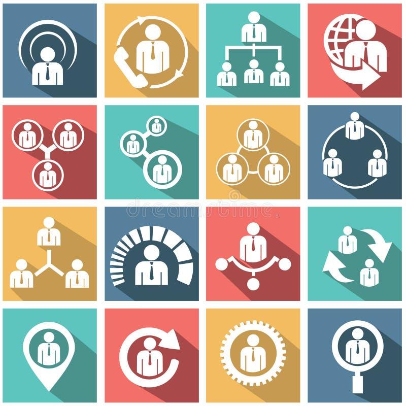 Działy zasobów ludzkich i zarządzanie royalty ilustracja