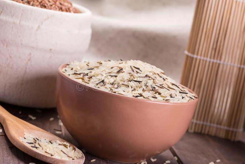 Dzicy ryż obrazy royalty free