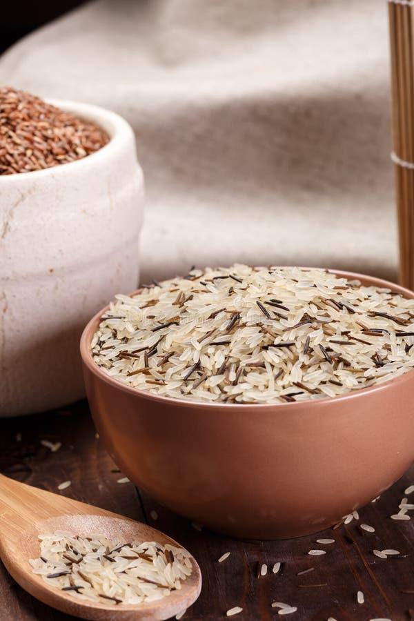 Dzicy ryż zdjęcia royalty free