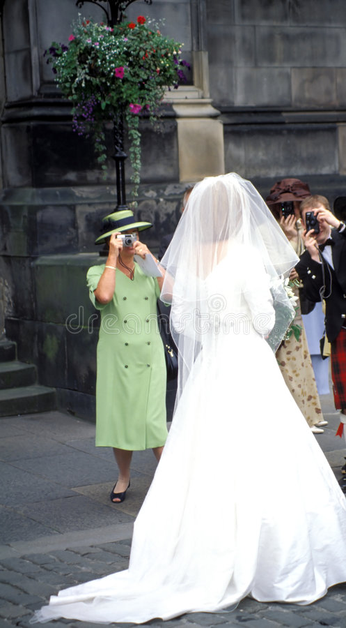 dzień ślubu obrazy royalty free