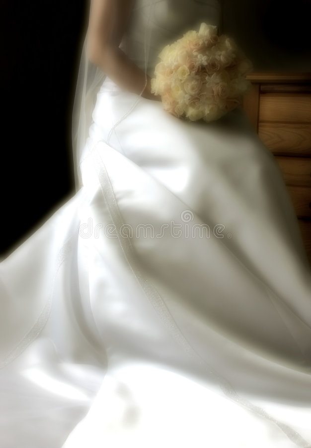 dzień ślubu fotografia royalty free