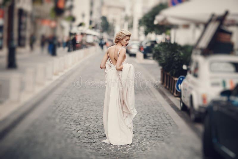 Dzień ślubu w Budapest zdjęcia stock