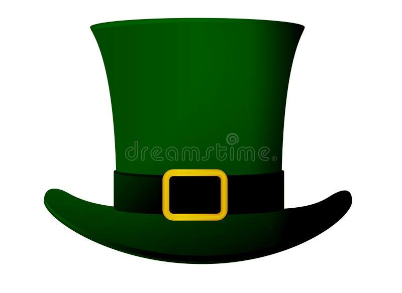 Dzień św. Patryka's Uroczystość Rekreacja Zielony Koniczyna Drukuj, dla pocztówki i baneru Styl projektowania zdjęcie royalty free