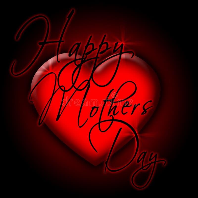 dzień 2 szczęśliwą matką ilustracji