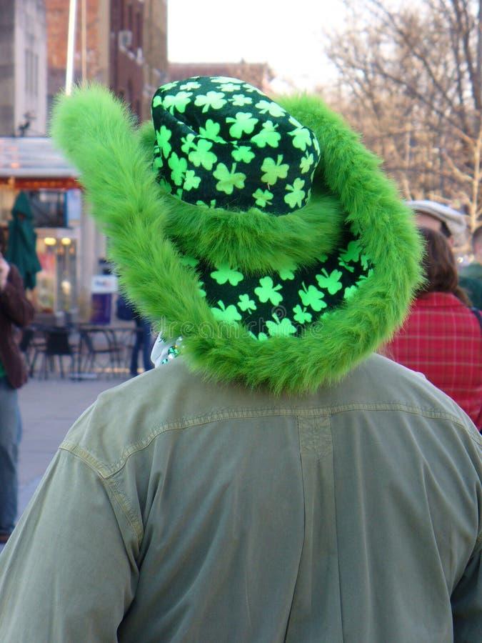 dzień cloverleaf Patrick jest kapelusz st. fotografia royalty free
