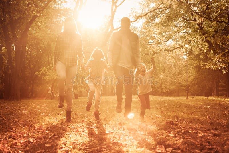 Dzień dla rodziny obraz royalty free