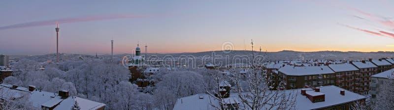 dzień dobry jutrzenkowa zimy. obrazy stock