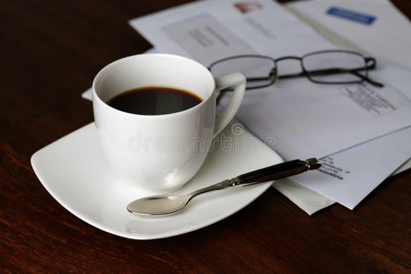 dzień dobry kawy obrazy stock