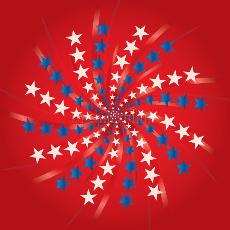 dzień fajerwerków niezależność royalty ilustracja