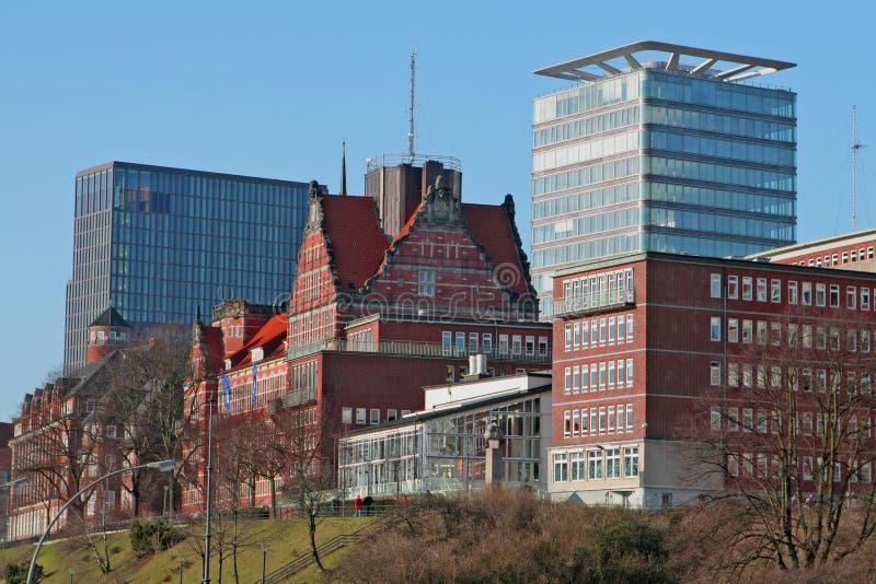 dzień Hamburg s obraz stock