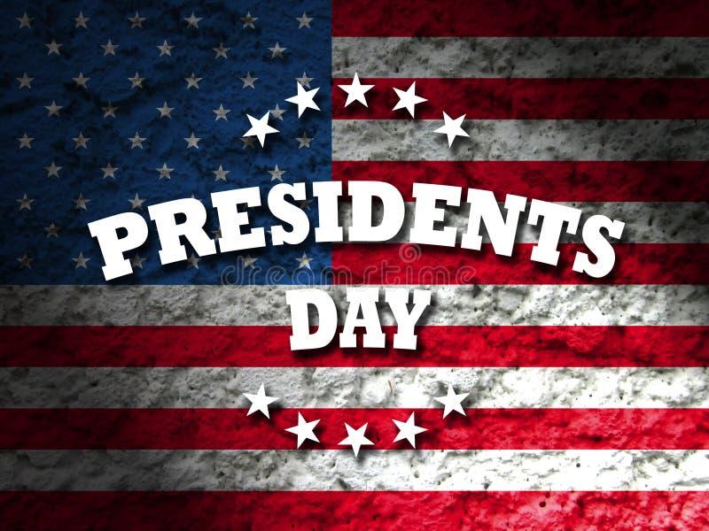 dzień ikon prezydent ustawiający royalty ilustracja