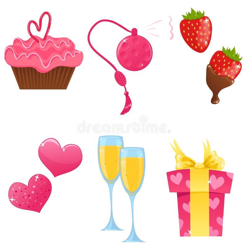dzień ikon valentine ilustracja wektor