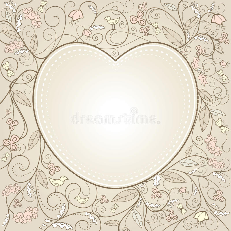 dzień karciani śliczni valentines ilustracja wektor