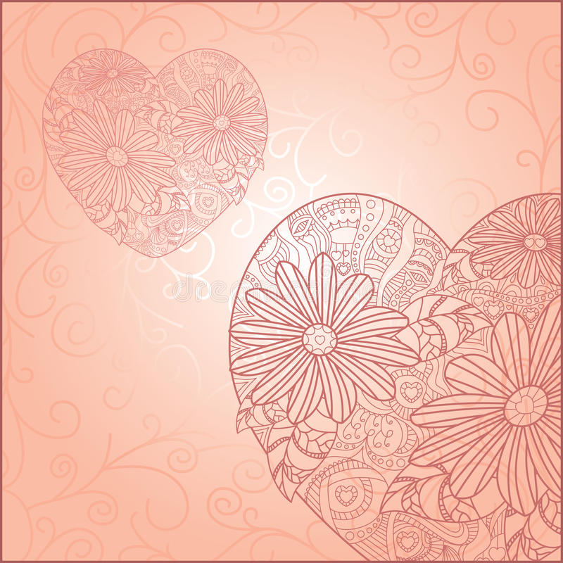 dzień karciany śliczny valentine s ilustracja wektor