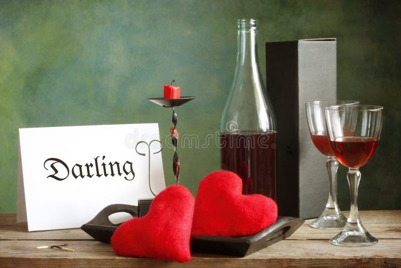 dzień karciany valentine obrazy royalty free