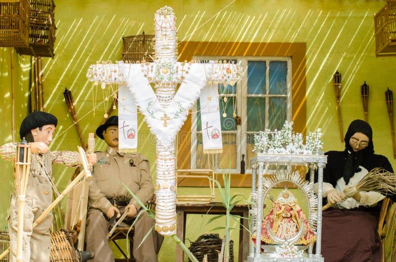 Download Dzień krzyż zdjęcie stock. Obraz złożonej z dekoracje - 53779612