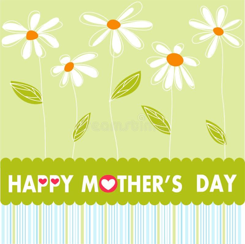 dzień kwiat daje mum syna matkom ilustracji