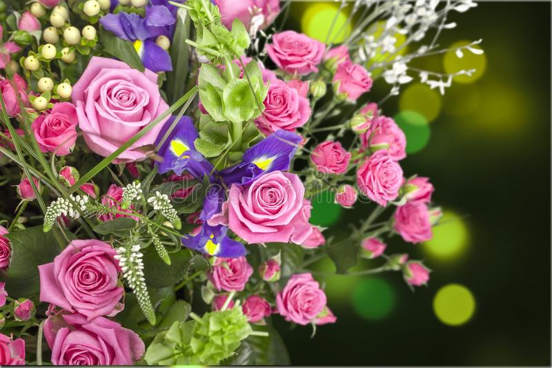 dzień kwiat daje mum syna matkom obraz royalty free