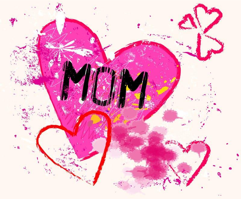 dzień matki royalty ilustracja