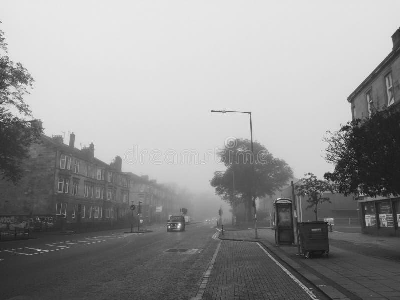 dzień mgła obraz royalty free