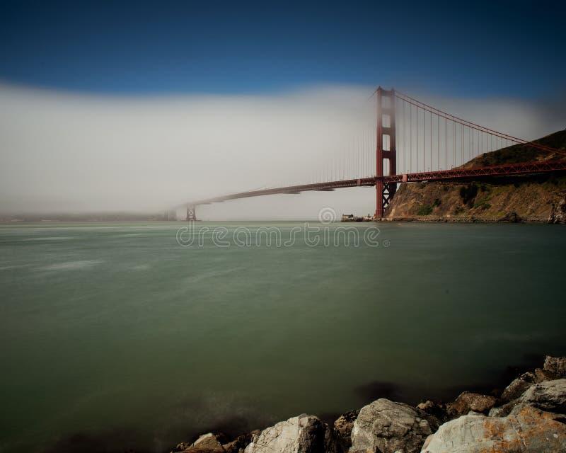 Dzień mgły na Złotej Bramie fotografia royalty free