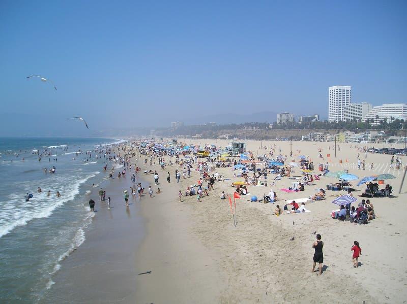 dzień na plaży zdjęcie stock