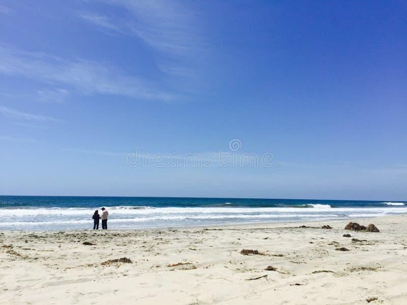 dzień na plaży zdjęcia stock