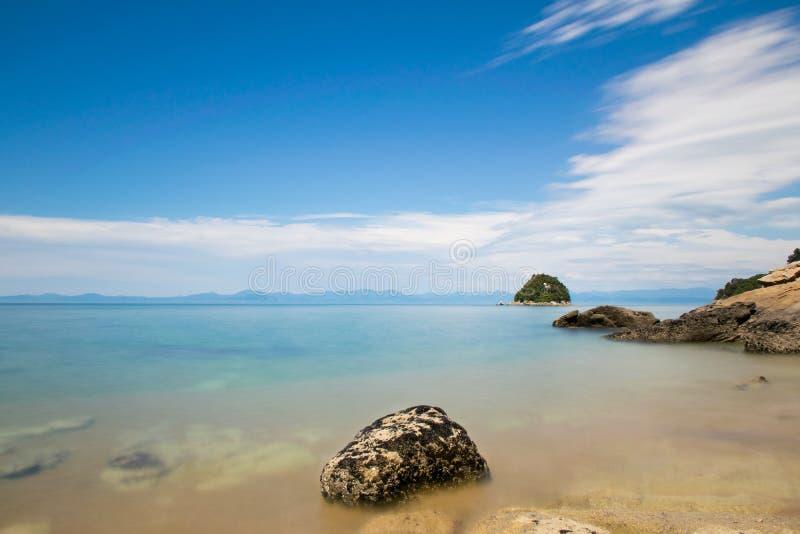 dzień na plaży sunny zdjęcia stock
