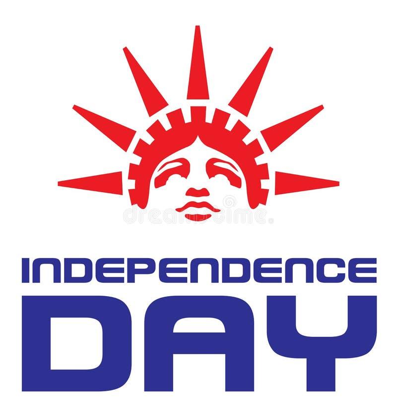 Dzień Niepodległości America ilustracja wektor