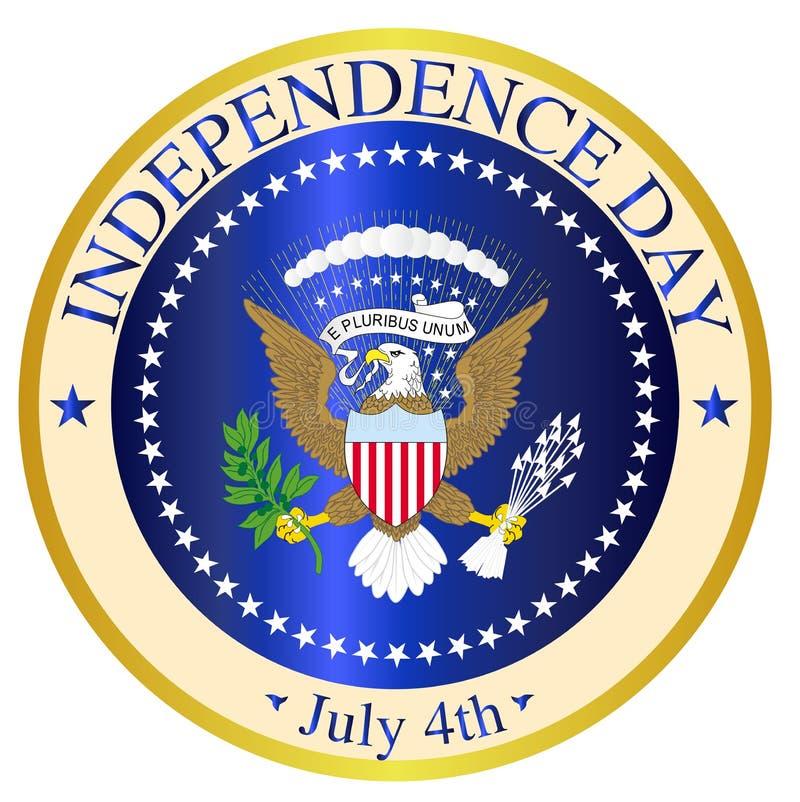 Dzień Niepodległości foka ilustracji