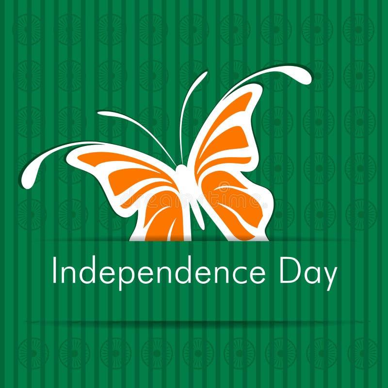 Dzień Niepodległości indiański majcher royalty ilustracja