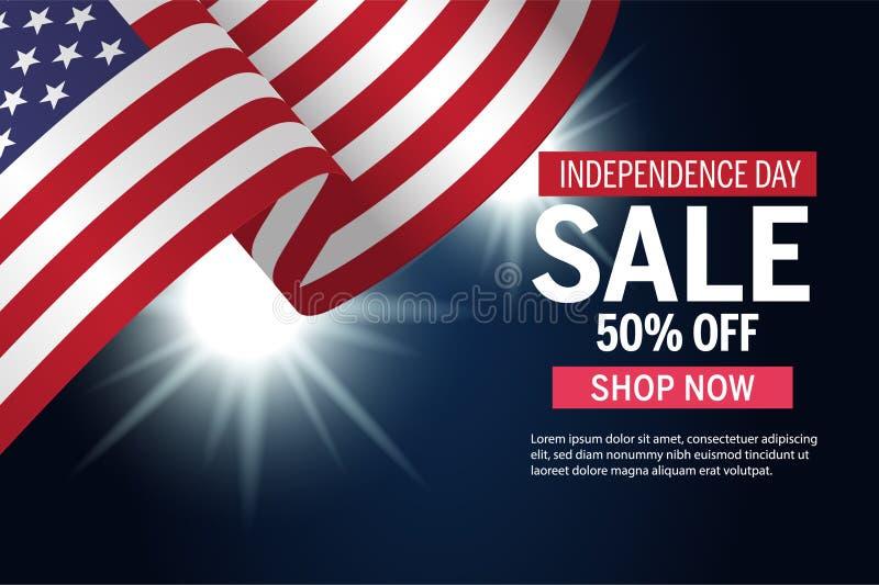 Dzień Niepodległości sprzedaży reklamy grafika ilustracja wektor