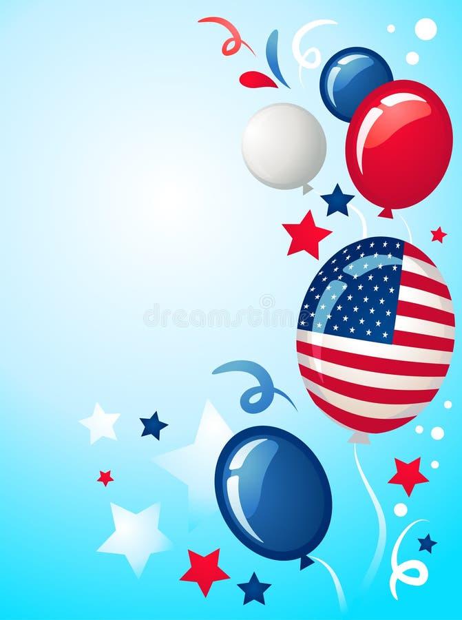 Dzień Niepodległości tło - 2 royalty ilustracja