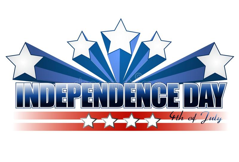 dzień niezależność royalty ilustracja