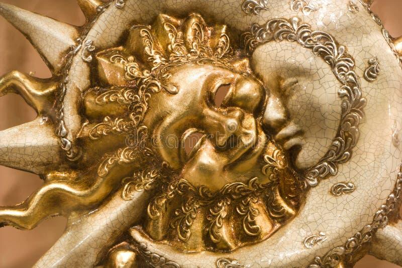 dzień, noc Wenecji obraz stock
