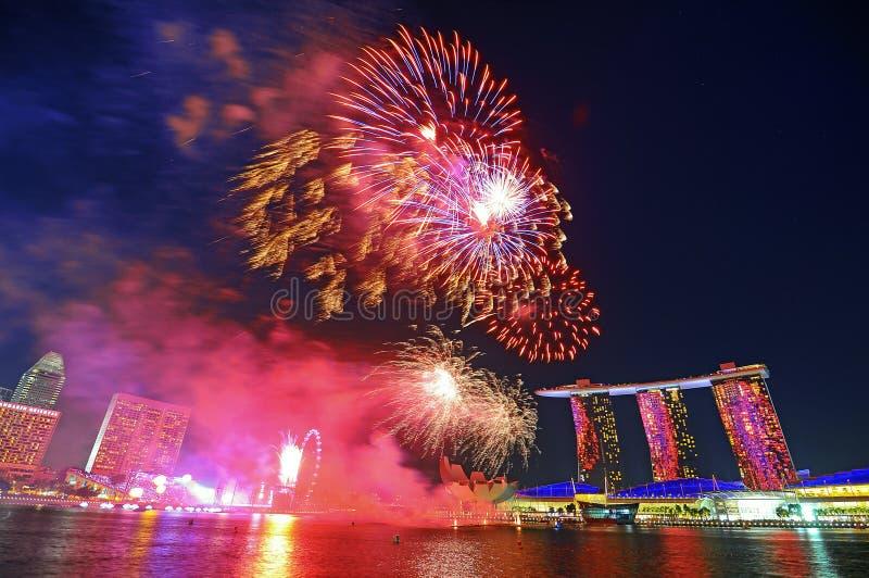 dzień obywatel Singapore zdjęcia royalty free