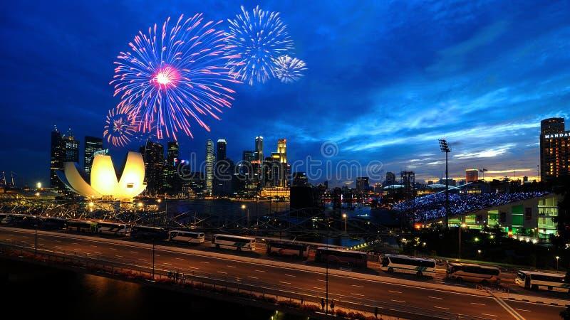 dzień obywatel Singapore obraz stock