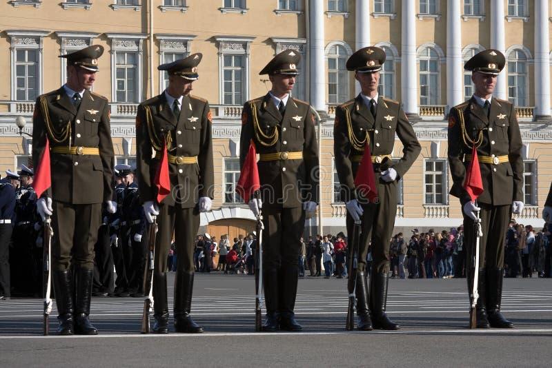 dzień parady próby zwycięstwo obraz royalty free