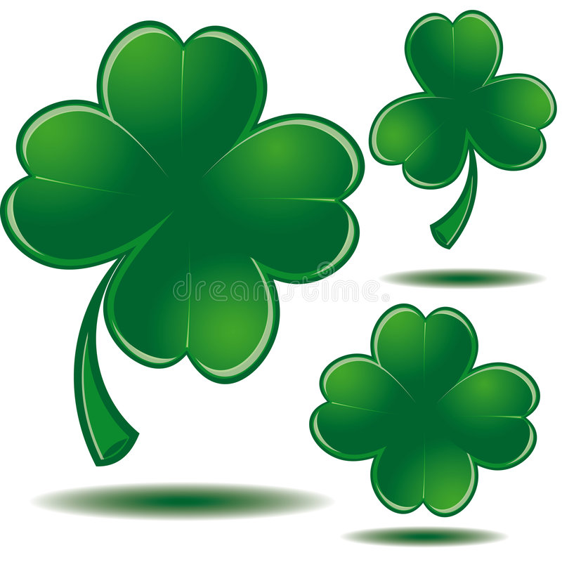 dzień Patrick s świętego symbol ilustracja wektor