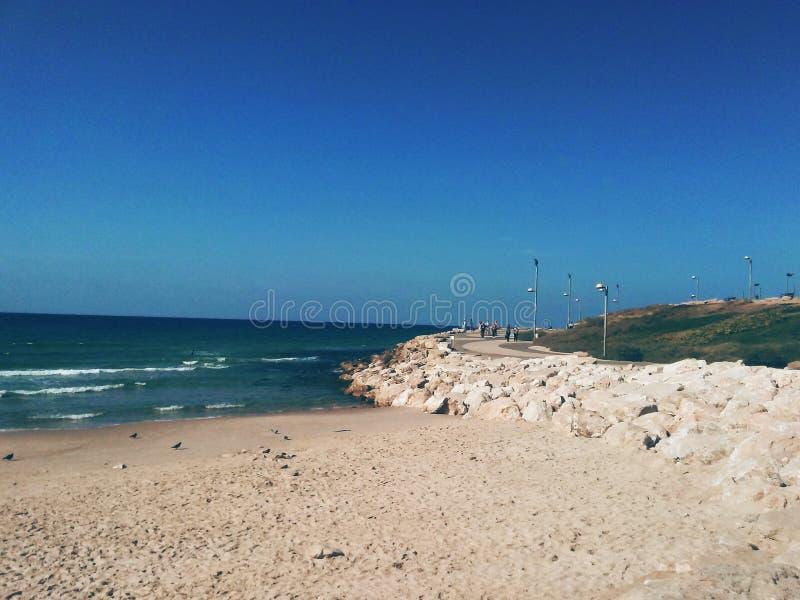 Dzień przy morzem fotografia royalty free