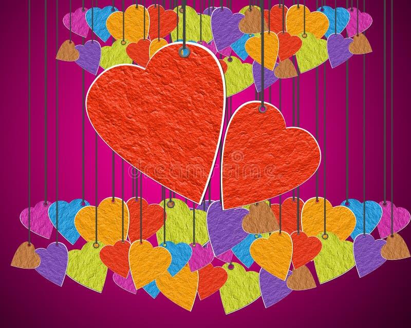dzień serce ilustracji