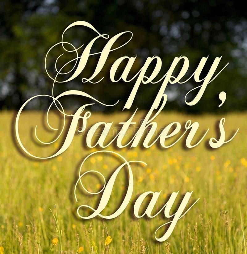 dzień szczęśliwego ojcze. fotografia royalty free