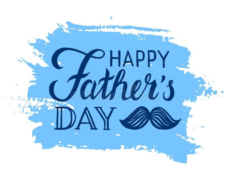 dzień szczęśliwego ojcze royalty ilustracja