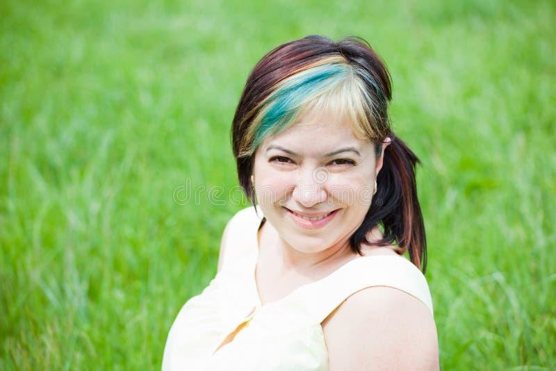 dzień target1403_0_ plenerowej kobiety fotografia stock