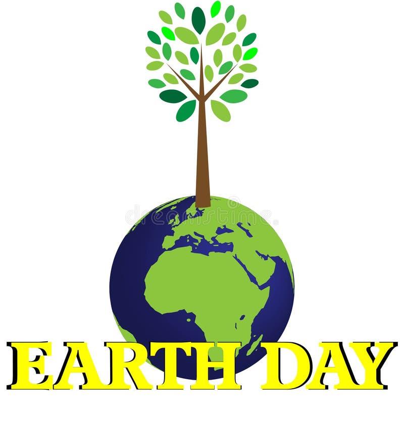 dzień ziemia ilustracja wektor
