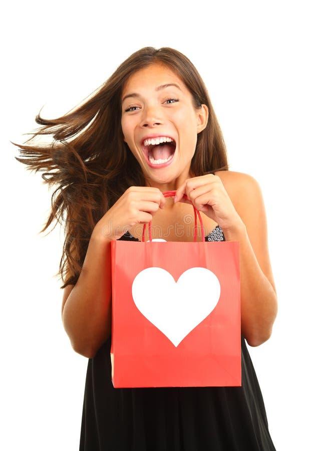 Download Dzień prezenta valentines zdjęcie stock. Obraz złożonej z femaleness - 12318794