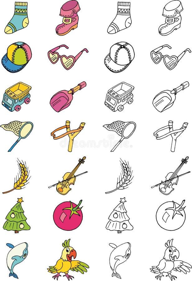 dzieciństwo tematy royalty ilustracja