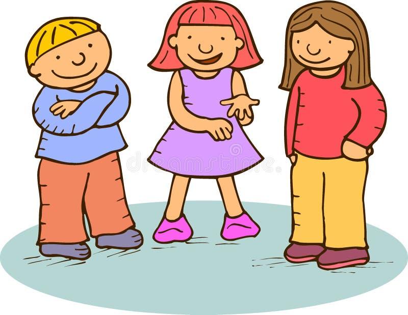 dzieci. ilustracja wektor