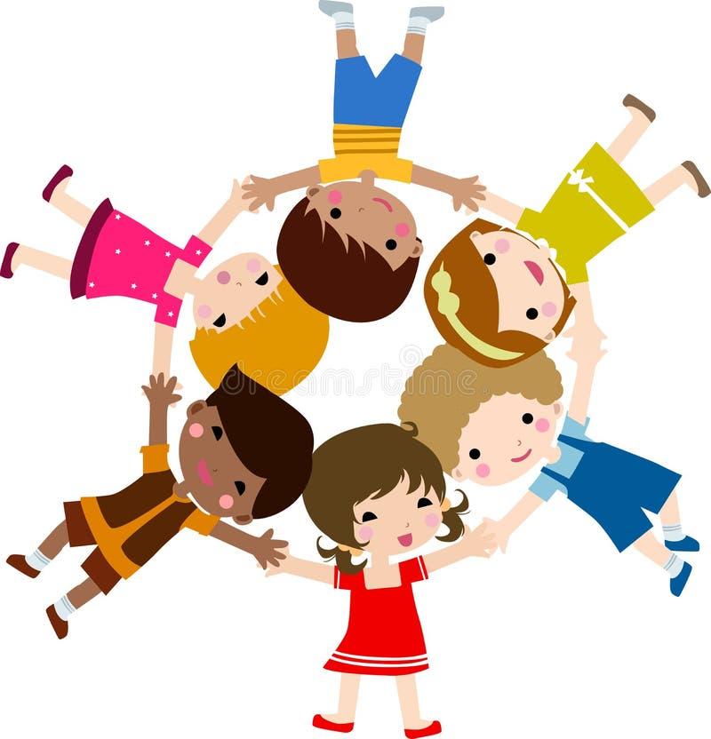 dzieci bawić się ilustracja wektor
