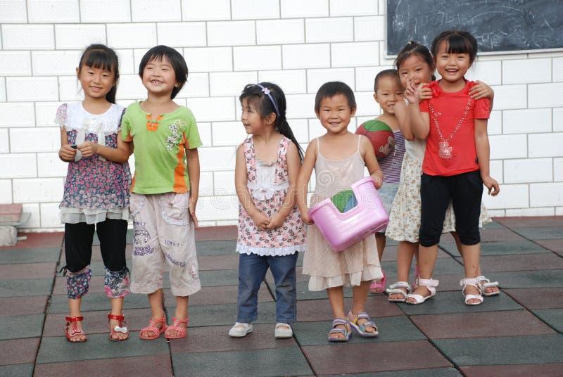 dzieci chińczyka szkoła obraz royalty free